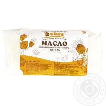 Svoe Extra Sweet Cream Salty Butter 82,5%