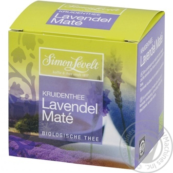 Simon Levelt Lavendel Mate Tea 10pack*1.5g