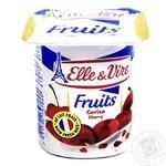 Десерт молочный Elle&Vire вишня 1,5% 125г