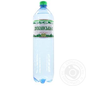 Вода Лужанская сильногазированная лечебно-столовая 1,5л - купить, цены на МегаМаркет - фото 1