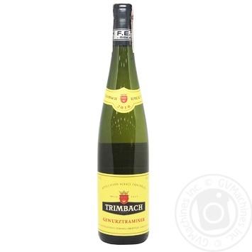 Trimbach Gewurztraminer white dry wine 13% 0,75l - buy, prices for CityMarket - photo 1