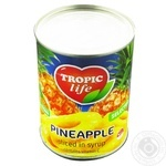 Pineapple rings Tropic life 580ml - buy, prices for Furshet - image 3