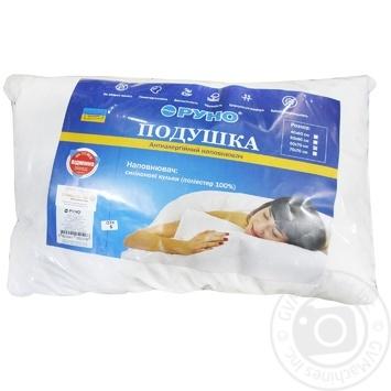Подушка из силиконовых гранул в тике 50*70см