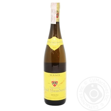 Riesling Turckheim White Dry Wine 12.5% 0.75l - buy, prices for CityMarket - photo 1