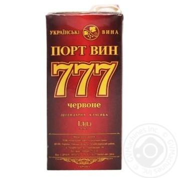 Вино Крымские Вина Портвейн 777 красное крепкое 17.5% 1л - купить, цены на Ашан - фото 8