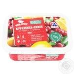 Клюква-лимон Рудь перетертые с сахаром 350г