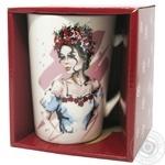 Чашка Keramia Модная девушка - 10 390мл