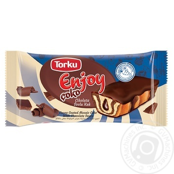 Тістечко Torku Enjoy з шоколадним сиропом 45г - купити, ціни на МегаМаркет - фото 1