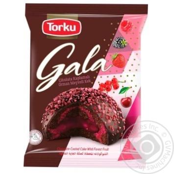 Тістечко Torku Gala з лісовими ягодами 50г - купити, ціни на МегаМаркет - фото 1