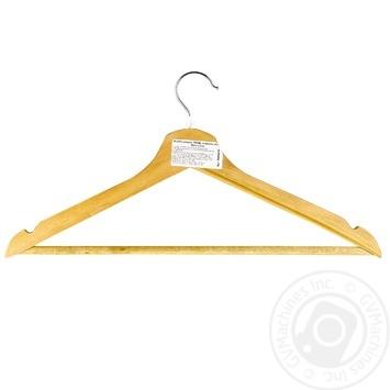 Вішалка Viland для одягу з нарізами - купити, ціни на МегаМаркет - фото 1