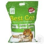 Наповнювач для туалетів Best Cat Blue сухий 10л х4
