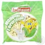 Палички кукурудзяні Їж Наше молочні з фруктозою 150г