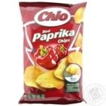Potato chips Chio Chips with red paprika taste 75g Hungary