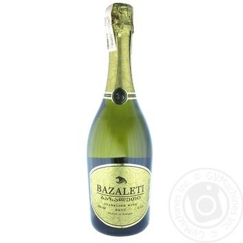 Вино ігристе Bazaleti біле брют 0,75л - купити, ціни на Novus - фото 2
