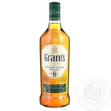 Виски Grant's 8 лет 40% 0,7л - купить, цены на Novus - фото 1
