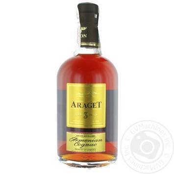 Коньяк Araget 3* 40% 0,5л