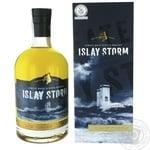 Віскі Islay Storm Single Malt 40% 0,7л в коробці