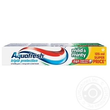 Aquafresh Mild Mint Toothpaste 125ml - buy, prices for Furshet - image 2