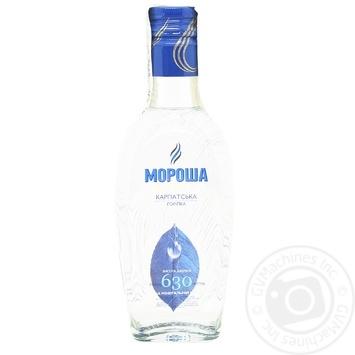 Водка Мороша Карпатская 40% 0,2л - купить, цены на МегаМаркет - фото 1