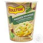 Пюре картопляне Роллтон зі смаком курки 55г