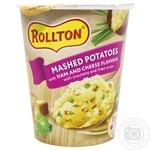 Пюре картопляне Роллтон зі смаком шинки та сиру 55г