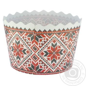 Форма Креатив-Принт для випічки куліча 110мм - купити, ціни на Фуршет - фото 1