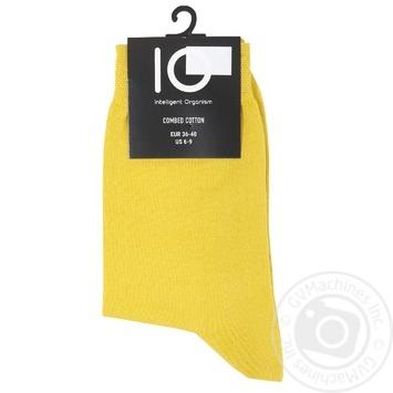 Носки женские IO р.36-40 горчичный
