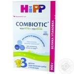 Детская сухая молочная смесь HiPP Combiotiс №3 с 10 месяцев 900г