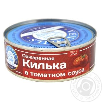 Килька Ventspils в томатном соусе 240г - купить, цены на Novus - фото 1