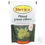 Iberica Pitted Green Olives - buy, prices for Auchan - image 1