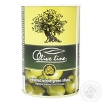 olive Olive line green with bone 420g can
