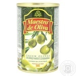 Maestro de Oliva Olives with cucumber 300g