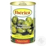 Оливки Іберіка з кісточкою 300г