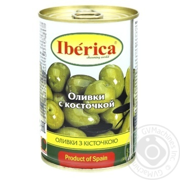 Оливки Иберика с косточкой 300г