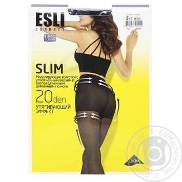 Esli E Slim Women's Tights 20 den s.2 nero - buy, prices for CityMarket - photo 1