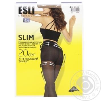 Колготки женские Esli E Slim 20 ден р.4 melone - купить, цены на СитиМаркет - фото 1