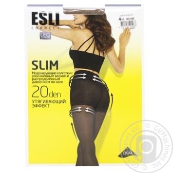 Колготки жіночі Esli E Slim 20 ден р.4 visone - купити, ціни на CітіМаркет - фото 1
