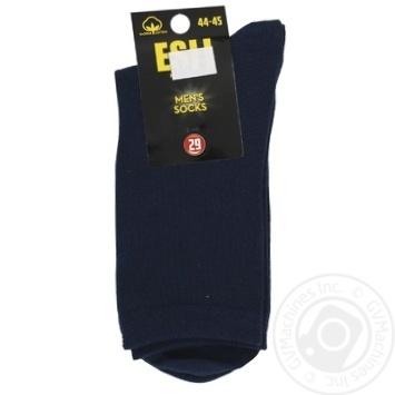 Носки мужские Esli E р.29 темно-синий - купить, цены на СитиМаркет - фото 1