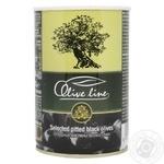 Маслины Olive Line отборочные без косточки 420г