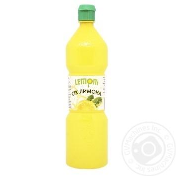 Сок Lemoni лимонный 370мл - купить, цены на Novus - фото 1