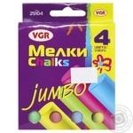 Мел цветной Chalks 4 цвета