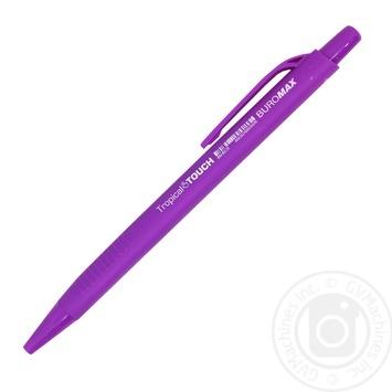 Ручка шариковая Buromax Tropical Touch масляная 0,7мм в ассортименте - купить, цены на Varus - фото 3