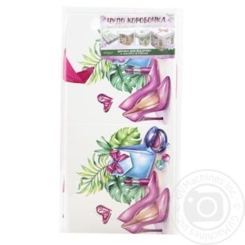 Коробка для подарков Happycom 15х15х15см в ассортименте - купить, цены на Таврия В - фото 8