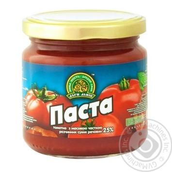 Tomato paste Dary laniv 200g glass jar - buy, prices for MegaMarket - image 1