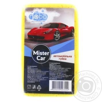 Губка автомобильная Nebolight Mister Car в ассортименте - купить, цены на МегаМаркет - фото 2