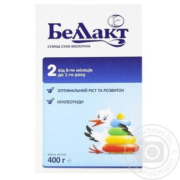 Суміш молочна Беллакт 2 дитяча суха з 6 місяців до 1 року 400г - купити, ціни на ЕКО Маркет - фото 1