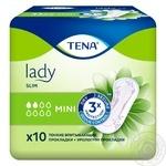 Прокладки Tena Lady Slim Mini урологічні 10шт - купити, ціни на CітіМаркет - фото 8