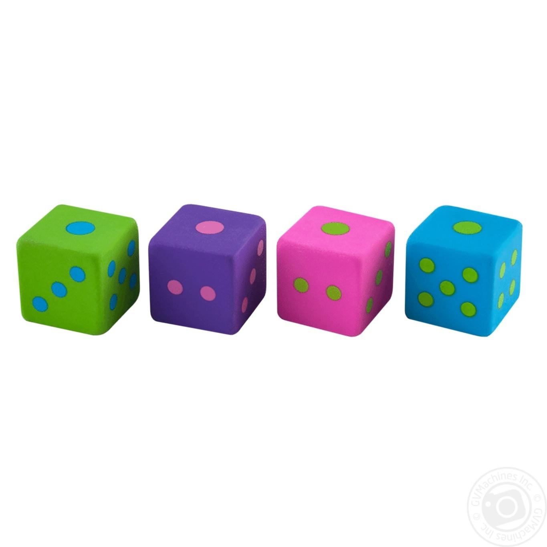 Купить 536, Ластик ZiBi Fun Cube 2шт в ассортименте