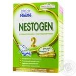 Суміш молочна Nestle Nestogen 2 суха з пребіотиками для дітей з 6 місяців 2шт 350г