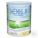 Nenni Milk mixture 1 dry with prebiotics 0-6 months 400g - buy, prices for Furshet - image 1